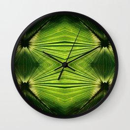 Palmetto Prism Wall Clock