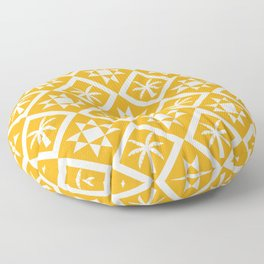 Bohemian Geometric Pattern 03B Floor Pillow
