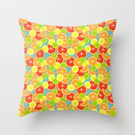 Sweet 'n' Sour  Throw Pillow