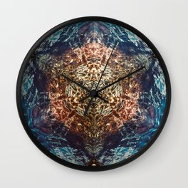 A Point For Reflection No 1 Wall Clock