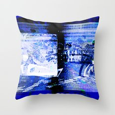Night Light, Gotland Throw Pillow