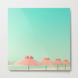 Relax By The Sea Metal Print