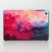 colorful iPad Cases featuring Reassurance by Caleb Troy