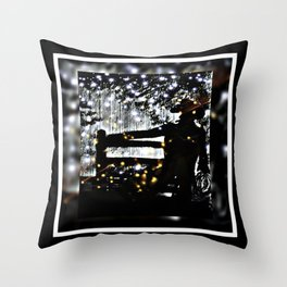 Starry Sky For The Cowboy In Montana Throw Pillow