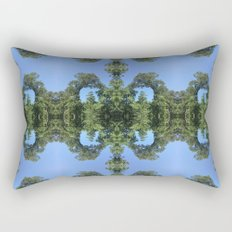 Green & Blue Are Friends Rectangular Pillow