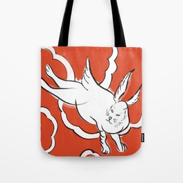 Bowie - Japanese Bunny Tote Bag