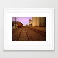 kansas Framed Art Prints featuring Kansas by Travis Davis