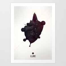 CORE Black 2 Art Print