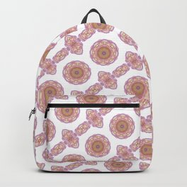 stylized roses pattern background Backpack