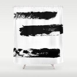 Brush 02 Shower Curtain