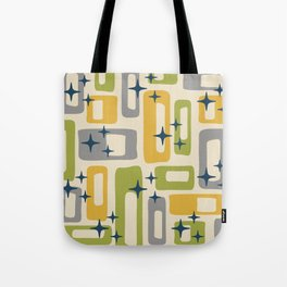 Retro Mid Century Modern Abstract Pattern 614 Tote Bag