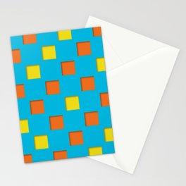 checkered pattern #24 Stationery Cards