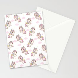 Kawaii Unicorn Stationery Cards