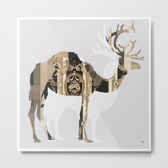 FabCreature · CaDeerPa 8 Metal Print
