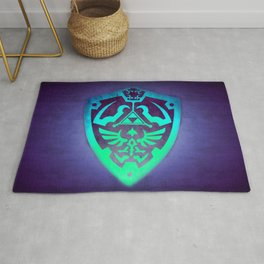Video game Shield Rug