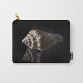 Spiral Sea Shell Carry-All Pouch