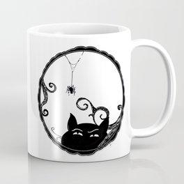 Familiar and Friend Up Close Coffee Mug