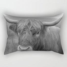 Highland cow I Rectangular Pillow