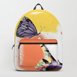 Come here sweet butterfly Backpack