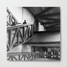 Architectural  Intersections Metal Print