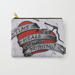 Time Heals Nothing! Carry-All Pouch