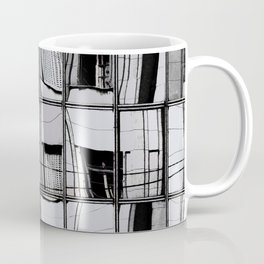 Reflections of Buildings on Buildings in Belgrade Coffee Mug