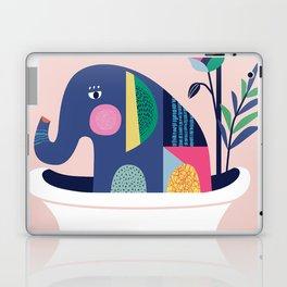 Elephant in the tub Laptop & iPad Skin
