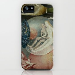 THE GARDEN OF EARTHLY DELIGHTS (detail) - HIERONYMUS BOSCH iPhone Case