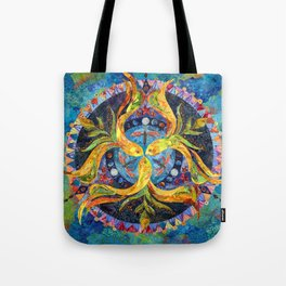 Pond Mandala Tote Bag