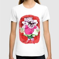 muscle T-shirts featuring MUSCLE MAMA by Your Pal Ched