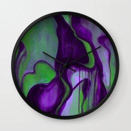 Apparitions Wall Clock