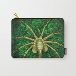 Facehugger (green) Carry-All Pouch