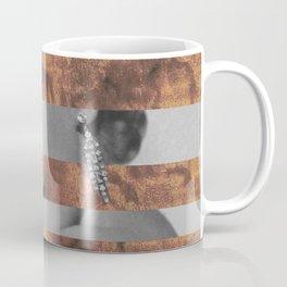"Leonardo's ""Head of a Woman"" & Marylin Monroe Coffee Mug"