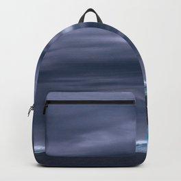 Ocean Blue Whale Sea Backpack