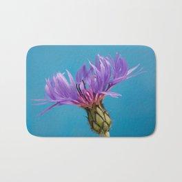 Purple Mountain Cornflower No.2 Bath Mat