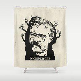 NICHE-TZSCHE Shower Curtain