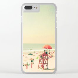 Summer of Love III Clear iPhone Case