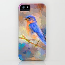 Bring On The Bluebirds iPhone Case
