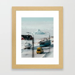 Random things in Greenland Framed Art Print