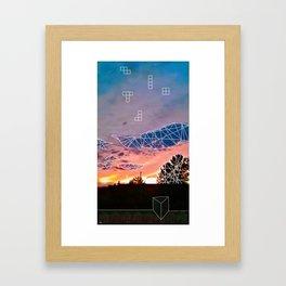 Tmbl & Mrge Framed Art Print