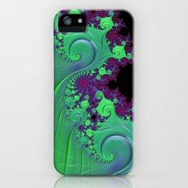 Euphoric Seahorse - Fractal Art iPhone Case