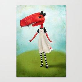 Staplegator Canvas Print