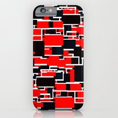 Black and Red iPhone 6s Slim Case