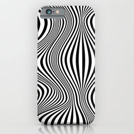Abstract Optical Illusion Background iPhone Case