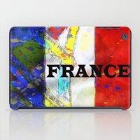 france iPad Cases featuring FRANCE by Brian Raggatt
