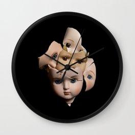 Little Broken Dolly Face - Halloween II Wall Clock