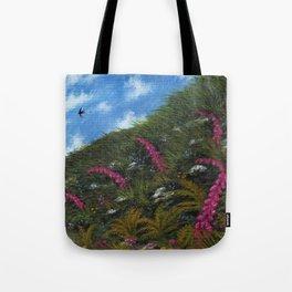 Foxglove Hedgerow Tote Bag