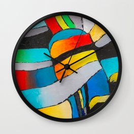 COLOR FANTASY 3 Wall Clock