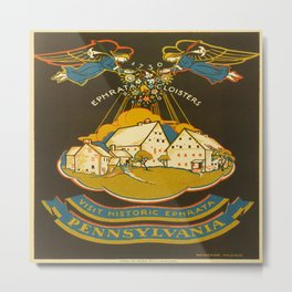Vintage poster - Ephrata Metal Print