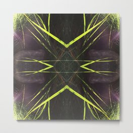518 - Abstract grass design Metal Print